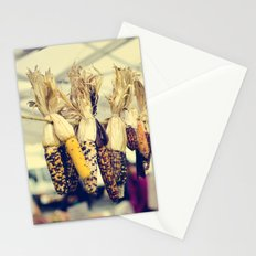 Indian Corn at the Farmers Market Stationery Cards