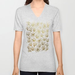 Queen Anne's Lace #2 Unisex V-Neck