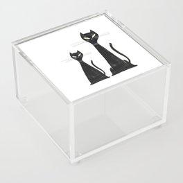Cats Acrylic Box