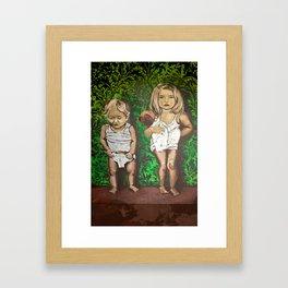 The Culprits Framed Art Print