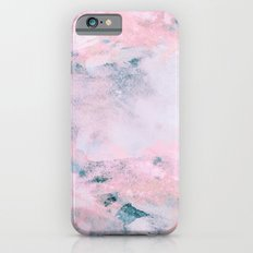 Navy Pink Watercolor Slim Case iPhone 6s