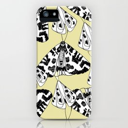Fly butterfly iPhone Case