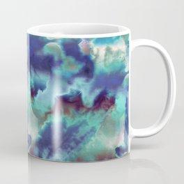 Aqua Blue TieDye Camo Coffee Mug