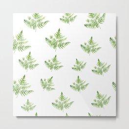Forest Farn Metal Print