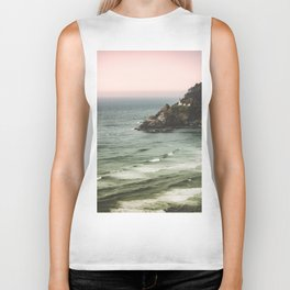 Pacific Northwest Grandeur - Heceda Lighthouse Biker Tank