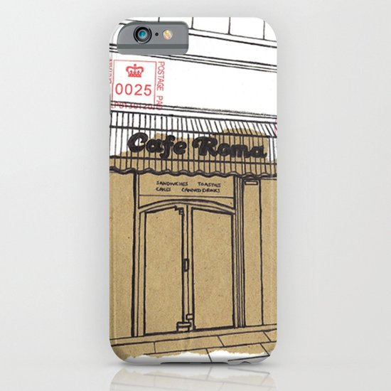Cafe Roma. iPhone & iPod Case