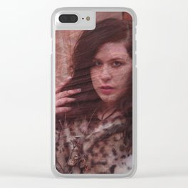 Lisa Marie Basile, No. 93 Clear iPhone Case