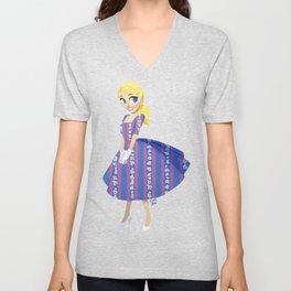 Girl of Liberty Unisex V-Neck