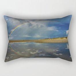 Atlantic Beach NC Rainbow Rectangular Pillow