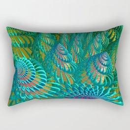 3D seashells artwork Rectangular Pillow