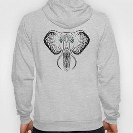Elephant Zen Doodle Hoody