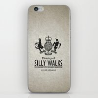 monty python iPhone & iPod Skins featuring MONTY PYTHON - Ministry of Silly Walks by La Cantina