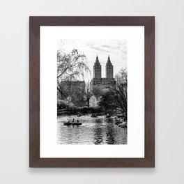 New York City Central Park Framed Art Print
