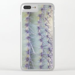 Sharp Beauty Clear iPhone Case