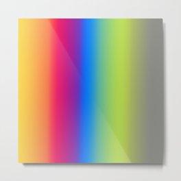 Ombre Bright Colors 1 Metal Print