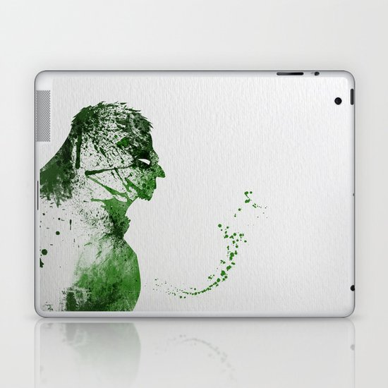 Irritated Laptop & iPad Skin