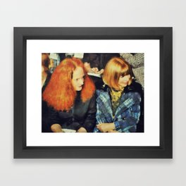 Anna and Grace  Framed Art Print
