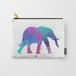 Elephant Watercolor I Carry-All Pouch
