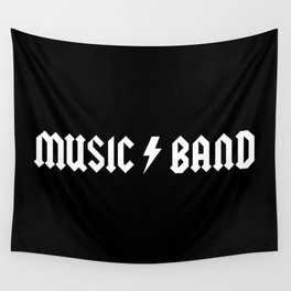Generic Music Band Quote Wall Tapestry