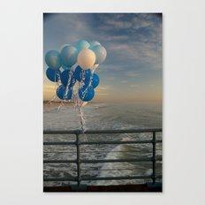 Santa Monica pier 4 Canvas Print