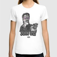 """evil dead T-shirts featuring Evil Ash from """"Evil Dead 2: Dead By Dawn"""" by Andysocial Industries"""