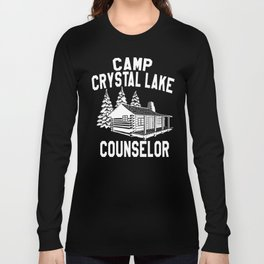 Camp Crystal Lake Counselor - Friday The 13th Long Sleeve T-shirt