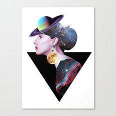 Lady from Outer Space Canvas Print