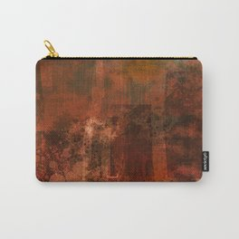 Organic rust Carry-All Pouch