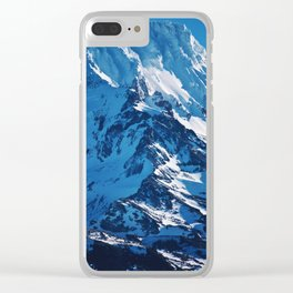 Mountain Side Clear iPhone Case