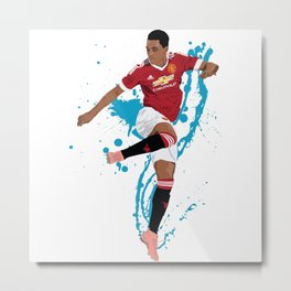 Anthony Martial - Manchester United FC Metal Print
