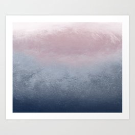 Watercolor Design #1 Art Print