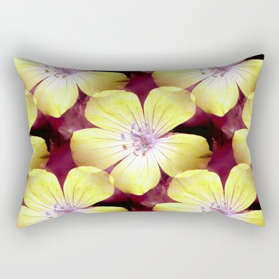 Summery Yellow.... Rectangular Pillow