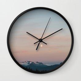 September Moon Wall Clock