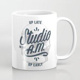 Up Late, Up Early Coffee Mug