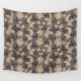 Blue butterflies Wall Tapestry