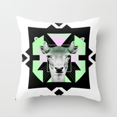 ::Space Deer:: Throw Pillow
