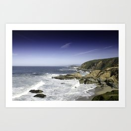 Bodega Bay Headlands Art Print