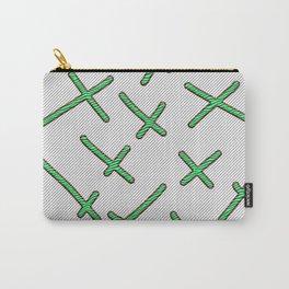 zebra cross Carry-All Pouch