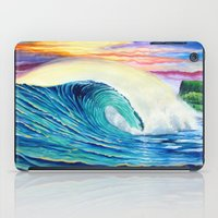 indonesia iPad Cases featuring  Surf Art  Indonesia by Surf Art Gabriel Picillo