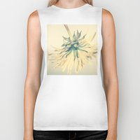 weed Biker Tanks featuring Weed by Dora Birgis