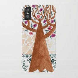 Mysterious tree iPhone Case
