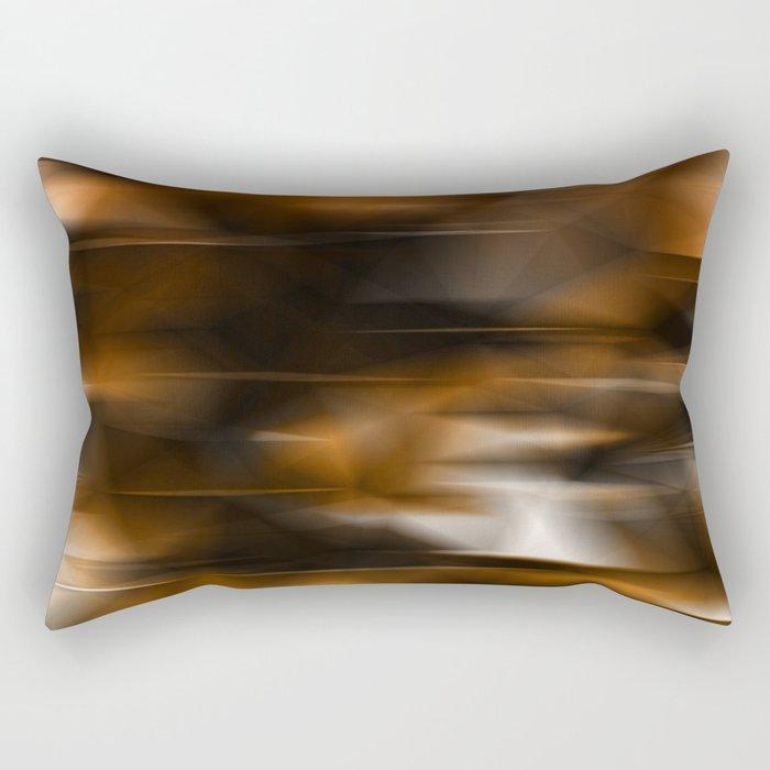 Lights and golden Rectangular Pillow