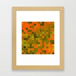 little colored squares -2- Framed Art Print