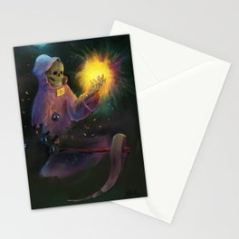 Grim Reaper Stationery Cards