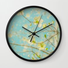 Longing for Spring Wall Clock