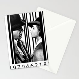Casablanca inside a barcode Stationery Cards