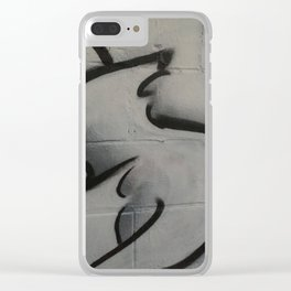 shreds Clear iPhone Case