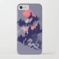 budi iPhone & iPod Cases featuring Samurai's life by Picomodi