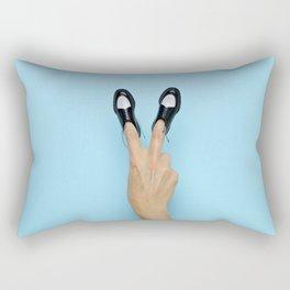 Peace Bro[gue] Rectangular Pillow