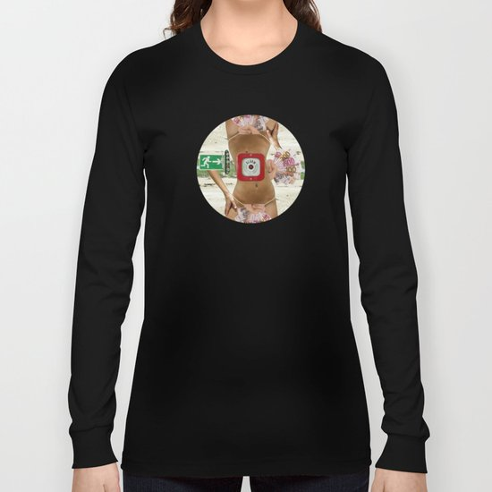 Somewhere between heaven and hell Long Sleeve T-shirt
